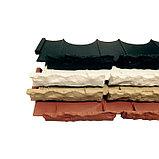 Бордюр «Камешки», 75 × 13 × 2 см, чёрный, фото 2