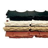 Бордюр «Камешки», 75 × 13 × 2 см, песочный, фото 2