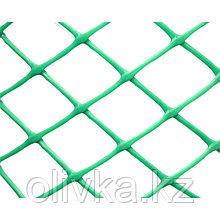 Сетка садовая, 1,2 × 10 м, размер ячейки 35 × 35 мм, хаки