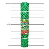 Сетка садовая, 1,2 × 10 м, размер ячейки 35 × 35 мм, хаки, фото 2