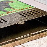 Ящик почтовый без замка (с петлёй), вертикальный, «Фото», МИКС, бронзовый, фото 4