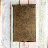 Ящик почтовый без замка (с петлёй), вертикальный, «Фото», МИКС, бронзовый, фото 5