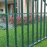 Сетка садовая, 1 × 30 м, ячейка 3 × 3 см, пластик, зелёная, Exagon, фото 3