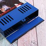 Ящик почтовый без замка (с петлёй), вертикальный, «Фото», МИКС, синий, фото 4