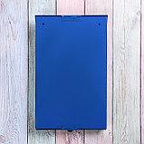 Ящик почтовый без замка (с петлёй), вертикальный, «Фото», МИКС, синий, фото 5