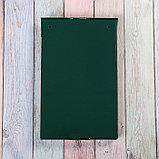 Ящик почтовый с замком, вертикальный, зелёный, фото 5