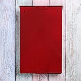 Ящик почтовый без замка (с петлёй), вертикальный, «Фото», МИКС, красный, фото 5