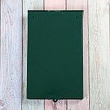 Ящик почтовый без замка (с петлёй), вертикальный, «Фото», МИКС, зелёный, фото 5