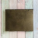 Ящик почтовый с замком, горизонтальный «Широкий», бронзовый, фото 6