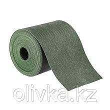 Лента бордюрная, 0.15 × 10 м, толщина 1.2 мм, пластиковая, зелёная, Greengo