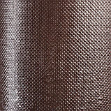 Лента бордюрная, 0.2 × 10 м, толщина 1.2 мм, пластиковая, коричневая, Greengo, фото 3