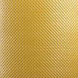 Лента бордюрная, 0.2 × 10 м, толщина 1.2 мм, пластиковая, жёлтая, Greengo, фото 3