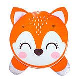 Мягкая игрушка «Пуфик: Лиса» 40см × 40см, цвет оранжевый, фото 2