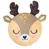 Мягкая игрушка «Пуфик: Олень» 40см × 40см, цвет коричневый, фото 2