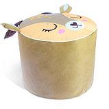 Мягкая игрушка «Пуфик: Олень» 40см × 40см, цвет коричневый, фото 3