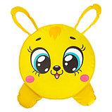 Мягкая игрушка «Пуфик: Заяц» 40см × 40см, цвет жёлтый, фото 2