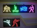 Изгоавливаем рекламу из холодного неона, Flex LED Neon, гибкого неона. Реклама из неона, фото 2
