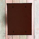 Ящик почтовый с замком, вертикальный, «Сфера», коричневый, фото 6