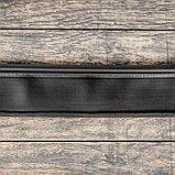 Лента бордюрная, 0,11 × 10 м, толщина 1 мм, пластиковая, чёрная, KANTA, фото 2