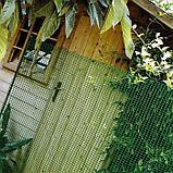 Сетка садовая, 1 × 50 м, ячейка 1,5 × 1 см, пластик, зелёная, HOBBY 10, фото 3