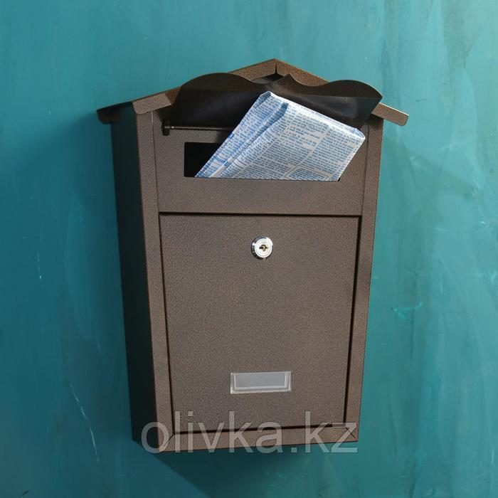 Ящик почтовый №11, антик медный