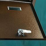 Ящик почтовый №11, антик медный, фото 5
