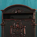 Ящик почтовый №4010В, старая медь, фото 6