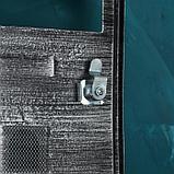 Ящик почтовый №2005, старое серебро, фото 4