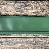 Лента бордюрная, 0.11 × 10 м, толщина 1 мм, пластиковая, оливковая, KANTA, фото 2