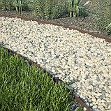 Бордюр для газона, двусторонний, коричневый, фото 5