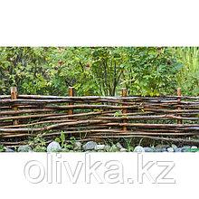 Фотобаннер, 250 × 150 см, с фотопечатью, люверсы шаг 1 м, «Плетёнка»
