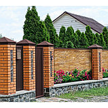 Фотобаннер, 250 × 150 см, с фотопечатью, люверсы шаг 1 м, «Клумба у дома», фото 2