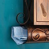 Ящик почтовый №2002, старая медь, фото 2