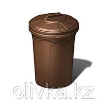 Бочка-бак хозяйственный, ББХ-100Н, 54х52х76,5см, микс