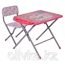 Комплект детской мебели Фея Досуг 201 Алфавит розовый