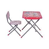 Комплект детской мебели Фея Досуг 201 Алфавит розовый, фото 2