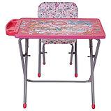 Комплект детской мебели Фея Досуг 201 Алфавит розовый, фото 3