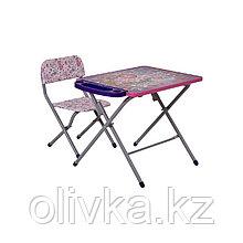 Комплект детской мебели Фея Досуг 201 Алфавит сиреневый