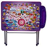 Комплект детской мебели Фея Досуг 201 Алфавит сиреневый, фото 4