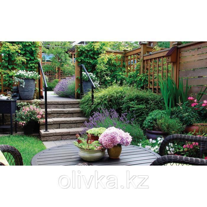 Фотобаннер, 250 × 150 см, с фотопечатью, люверсы шаг 1 м, «Во дворе»