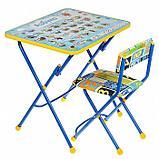 Набор детской мебели «Никки. Азбука» складной: стол, мягкий стул, МИКС, фото 5