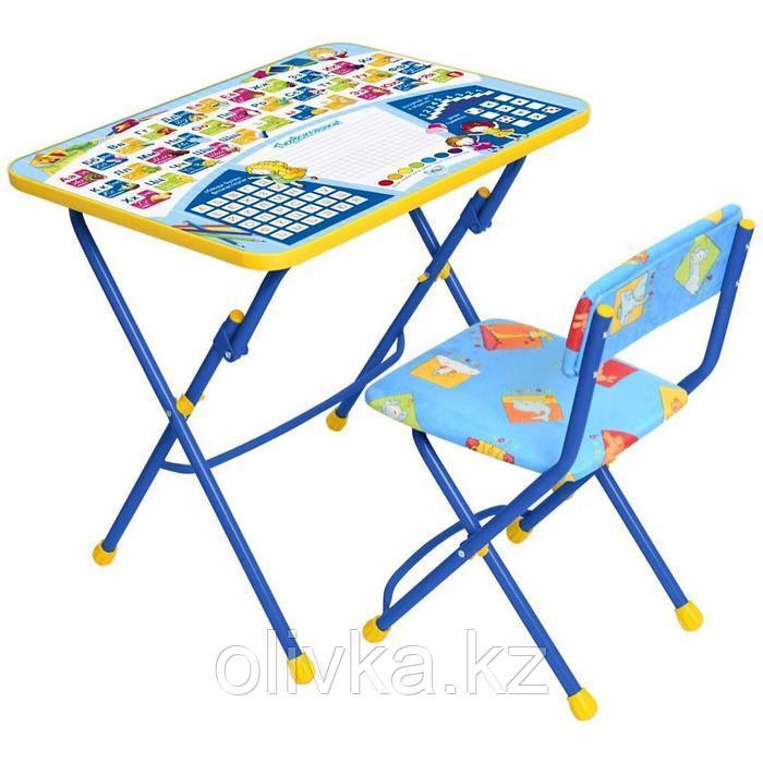 Набор детской мебели «Никки. Первоклашка-осень»: стол, стул, от 3 до 7 лет, МИКС