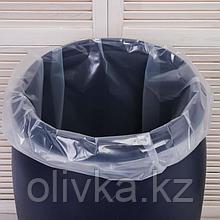 Мешок, вкладыш в бочку, 35 литров, 50 × 70 см, 80 мкм