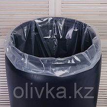 Мешок, вкладыш в бочку, 200 литров, 90 × 150 см, 100 мкм