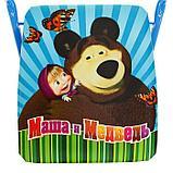 Набор мебели «Азбука 2. Маша и Медведь», стол, стул мягкий, фото 4
