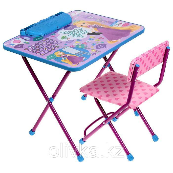 Набор мебели «Рапунцель», стол, пенал, мягкий стул, 1,5 – 3 лет