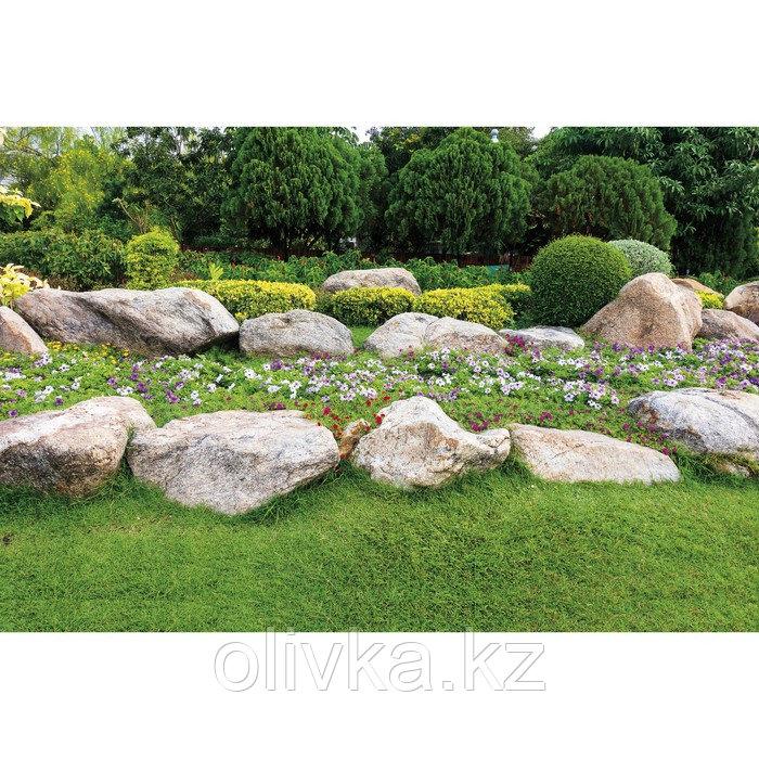 Фотобаннер, 300 × 160 см, с фотопечатью, люверсы шаг 1 м, «Каменный островок»
