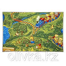 Ковер «Малиновка», 100х150 см, зелёный