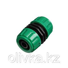 """Муфта-соединитель, 5/8"""" (16 мм) – 5/8"""" (16 мм), цанга, ABS-пластик"""
