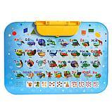 Комплект детской мебели, с азбукой, фото 7